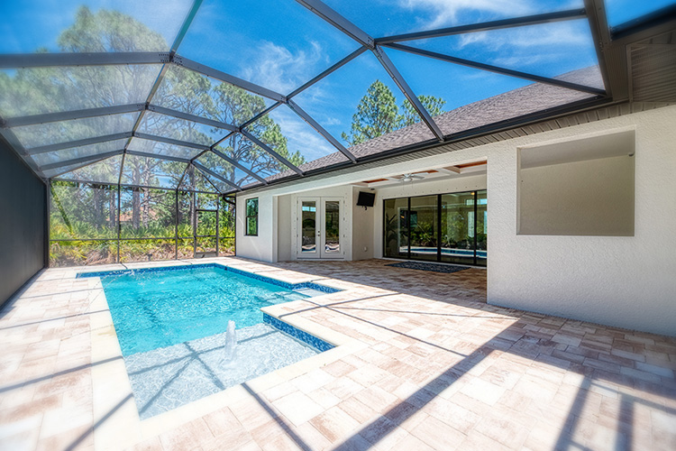 Florida Home Builder Pool