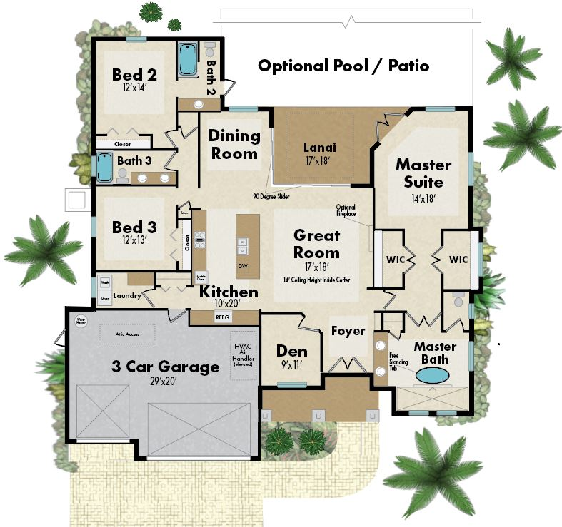 live oak floorplan