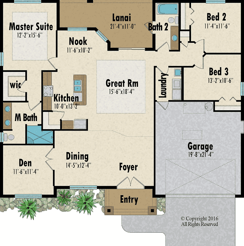 The Mangrove floorplan - Capitol Homes