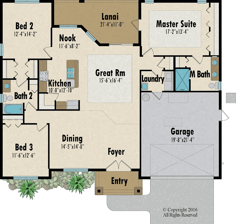 The Mangrove 2 floorplan - Capitol Homes