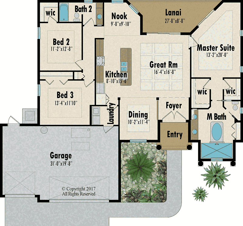 The Royal Palm floorplan - Capitol Homes