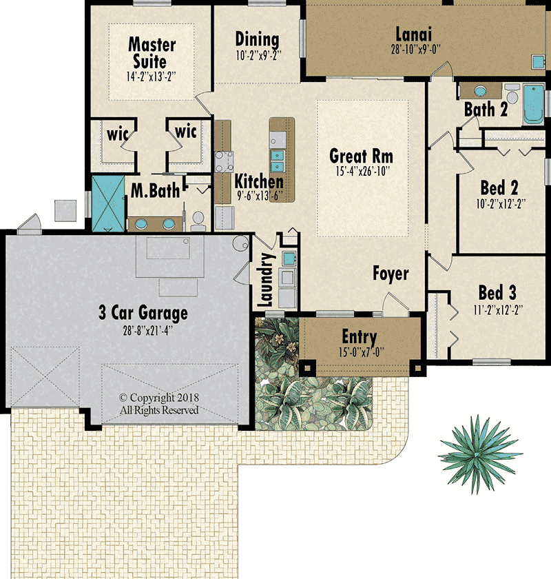 Sugarberry floorplan - Capitol Homes